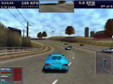 Need for Speed III: Hot Pursuit Windows Hometown: The hometown track has a lovely rural setting. The car is a Spectre R42