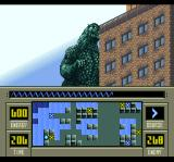 Super Godzilla SNES This building is in the way