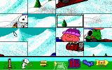 Snoopy's Game Club DOS Putting an animated picture back together (EGA)