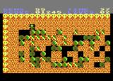 Rockford: The Arcade Game Atari 8-bit In this level some walls present a challenge