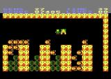 Rockford: The Arcade Game Atari 8-bit Here's the exit, but I still need more diamonds