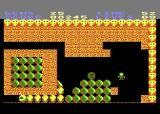 Rockford: The Arcade Game Atari 8-bit The large snake creates diamonds, but don't get caught!