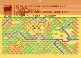 Conflict in Vietnam Atari 8-bit Beginning the game