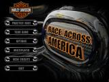 Harley-Davidson: Race Across America Windows Main Menu