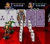 Battletoads in Battlemaniacs SNES Another bonus stage, but with dominoes rather than bowling pins