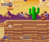 Bubsy in: Claws Encounters of the Furred Kind SNES The cactus certifies that this is the desert