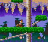 Bubsy in: Claws Encounters of the Furred Kind SNES The jungle level