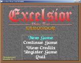 Excelsior Phase Two: Errondor Windows Title Screen