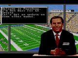 Bill Walsh College Football  SEGA CD The match is about to begin