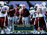 Bill Walsh College Football  SEGA CD Pause menu