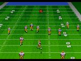 Bill Walsh College Football  SEGA CD The ball is in the air