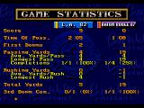 Bill Walsh College Football  SEGA CD Game stats