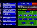 Championship Soccer '94 SEGA CD Setting up your team