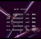 Cobra Command SEGA CD The high score table