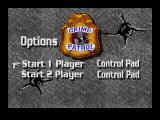 Crime Patrol SEGA CD Options