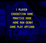 ESPN Baseball Tonight SEGA CD Main menu