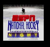 ESPN National Hockey Night SEGA CD Title screen