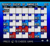 ESPN National Hockey Night SEGA CD Here we can see upcoming events