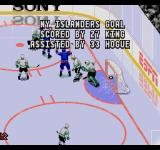 ESPN National Hockey Night SEGA CD That's a goal