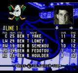 ESPN National Hockey Night SEGA CD Team info