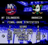ESPN National Hockey Night SEGA CD Final game stats