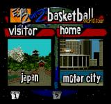 ESPN NBA Hangtime '95 SEGA CD First out in the world tour: Japan and Motor city