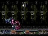Heavy Nova SEGA CD The first boss