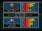 Joe Montana's NFL Football SEGA CD Team comparison