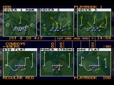 Joe Montana's NFL Football SEGA CD Strategy selection