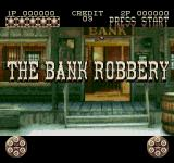 Lethal Enforcers II: Gun Fighters SEGA CD First level: The bank robbery