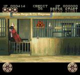 Lethal Enforcers II: Gun Fighters SEGA CD Oh, a weapon upgrade right in front of me