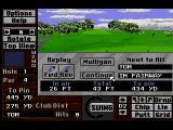 Links: The Challenge of Golf SEGA CD The result of the last stroke
