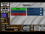 Links: The Challenge of Golf SEGA CD Options
