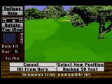 Links: The Challenge of Golf SEGA CD If the situation is too hopeless there is always a way out