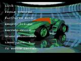 MegaRace SEGA CD Car stats
