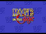 WWF Rage in the Cage SEGA CD Title screen