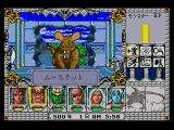 Might and Magic III: Isles of Terra SEGA CD Fighting a giant mouse