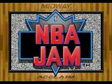 NBA Jam SEGA CD Title screen