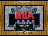 NBA Jam SEGA CD Main menu