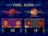 NBA Jam SEGA CD Final score