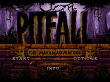 Pitfall: The Mayan Adventure SEGA CD Title screen
