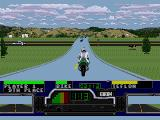 Road Rash SEGA CD There are lots of intersections