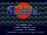 Robo Aleste SEGA CD Title screen