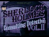 Sherlock Holmes: Consulting Detective - Volume II SEGA CD Title screen