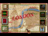 Sherlock Holmes: Consulting Detective - Volume II SEGA CD Main in-game menu