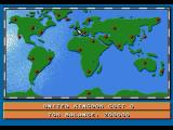 Theme Park SEGA CD The world map