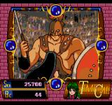 Time Gal SEGA CD A big gladiator