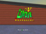 Zombie Wranglers Xbox 360 Title Screen
