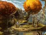 The Whispered World Windows Two talking stones - very funny guys