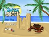 Sandy Beach Wii Title screen